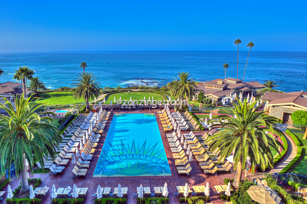 Montage Hotel Resort Laguna Beach Ca Swimming Pool Luxury Resort David Zanzinger Fine