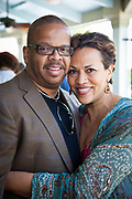 Terence and Robin Blanchard at the wedding of Thais Lange and Marcus Runkel