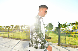 September 19, 2018 - San Jose, California, United States - San Jose, CA - Wednesday September 19, 2018: JT Marcinkowski prior to a Major League Soccer (MLS) match between the San Jose Earthquakes and Atlanta United FC at Avaya Stadium. (Credit Image: © John Todd/ISIPhotos via ZUMA Wire)