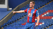 Connor Dymond leads from the back during the Final Third Development League match between U21 Crystal Palace and U21 Bristol City at Selhurst Park, London, England on 3 November 2015. Photo by Michael Hulf.