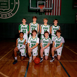 8th Grade Boys Basketball - Portraits