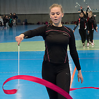 Dansers practice