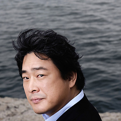 "Park Chan Wook presenting his movie ""Thirst"" (Bakjwi) at the Cannes Film Festival. France. May 2009. Photo: Antoine Doyen"
