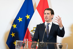 06.03.2019, Bundeskanzleramt, Wien, AUT, Bundesregierung, Pressefoyer nach Sitzung des Ministerrats, im Bild Bundeskanzler Sebastian Kurz (ÖVP) // Austrian Federal Chancellor Sebastian Kurz during media briefing after cabinet meeting at federal chancellors office in Vienna, Austria on 2019/03/06 EXPA Pictures © 2019, PhotoCredit: EXPA/ Michael Gruber