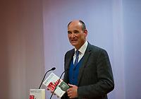 DEU, Deutschland, Germany, Berlin,28.02.2018: Der Verleger Manuel Herder bei der Buchvorstellung: Taugt das Christentum noch als geistiges Fundament Europas? Der Skandal der Skandale.