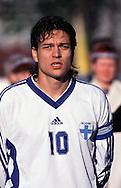 03.06.2000 Daugava Stadium, Riga, Latvia. .Friendly International match Latvia v Finland..Jari Litmanen - Finland.©JUHA TAMMINEN