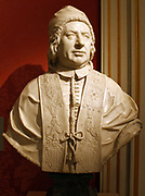 Pope Benedict XIV 1740-1758 (Prospero Lambertini) by Joseph Claus.  Signed and dated 1754.
