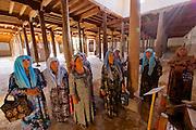 Uzbekistan, Khiva. Juma Mosque.