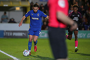 AFC Wimbledon defender Luke O'Neill (2) dribbling down the wing during the EFL Sky Bet League 1 match between AFC Wimbledon and Peterborough United at the Cherry Red Records Stadium, Kingston, England on 18 January 2020.