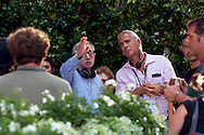 Roma 11 Luglio 2011.Woody Allen  sul set del suo nuovo film The Bob Decameron di Woody Allen
