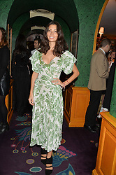 JASMINE HEMSLEY at a dinner to celebrate the 125th anniversary of the Dog's Trust held at Annabel's, Berkeley Square, London on 1st November 2016.