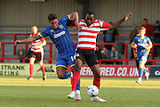 David Fitzpatrick during the match between Kingstonian and AFC Wimbledon at the Cherry Red Records Stadium, Kingston, England on 30 July 2015. Photo by Stuart Butcher.