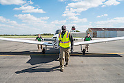 The Ohio University Flying Bobcats photographed at the NIFA Regionals at the Ohio State University airport on October 8. 2014.