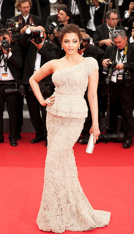 CANNES, FRANCE - MAY 11: Actress Aishwarya Rai Bachchanattends the Opening Ceremony at the Palais des Festivals during the 64th Cannes Film Festival on May 11, 2011 in Cannes, France.