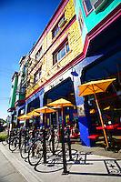 Bicycle Rack @ Pambiche Cocina & Repostería Cubana / Pambiche Cuban Restaurant
