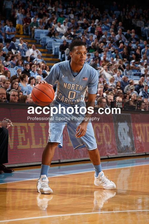CHAPEL HILL, NC - DECEMBER 31: Nate Britt #0 of the North Carolina Tar Heels  plays the UNC Wilmington Seahawks on December 31, 2013 at the Dean E. Smith Center in Chapel Hill, North Carolina. North Carolina defeated UNC Wilmington 84-51. (Photo by Peyton Williams/UNC/Getty Images) *** Local Caption *** Nate Britt