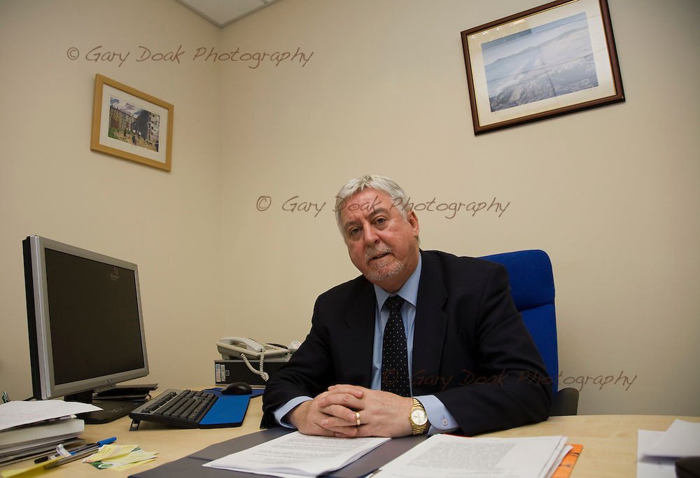 Joe Connolly, Chief Executive of YMCA Glasgow who run some of the Red Road flats, Glasgow..