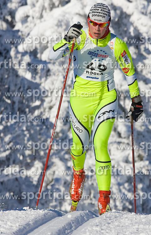 Vesna Fabjan (SLO) at Ladies 15 km Classic Mass Start Competition of Viessmann Cross Country FIS World Cup Rogla 2009, on December 20, 2009, in Rogla, Slovenia. (Photo by Vid Ponikvar / Sportida)