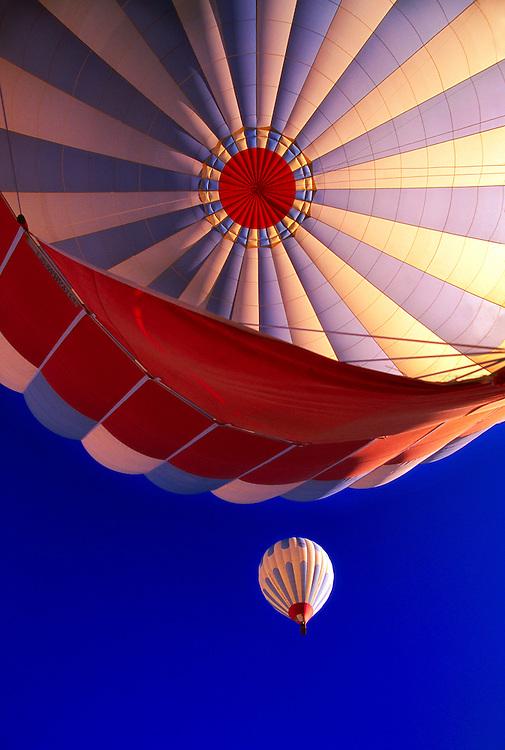 Hot air ballooning over Cappadocia (with Kapdokya Balloons), Goreme, Turkey