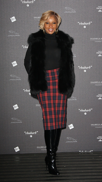 Mary J Blighe arriving at the opening of the  Isabella Blow at the Isabella Blow exhibition at Somerset House in London, Tuesday, 19th November 2013   Photo by: i-Images