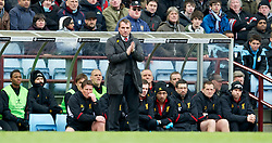 BIRMINGHAM, ENGLAND - Easter Sunday, March 31, 2013: Liverpool's manager Brendan Rodgers during the Premiership match against Aston Villa at Villa Park. (Pic by David Rawcliffe/Propaganda)