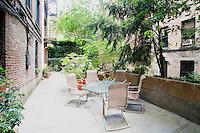 Courtyard / Garden at 46 West 83rd Street