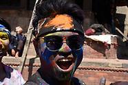 Holi In Nepal 2017