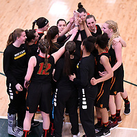 U Sports 2018 Women's National Basketball Championship on March  9 at the Centre for Kinesiology, Health and Sport Regina,Saskatchewan. Credit: Arthur Ward/Arthur Images