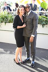 AU_1391671 - Melbourne, AUSTRALIA  -  AAMI Victoria Derby Day celebrities and VIPs in the Birdcage.<br /> <br /> Pictured: Friend of Usain Bolt<br /> <br /> BACKGRID Australia 2 NOVEMBER 2018 <br /> <br /> BYLINE MUST READ: Richard Milnes / BACKGRID<br /> <br /> Phone: + 61 2 8719 0598<br /> Email:  photos@backgrid.com.au