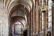 Nederland, Deventer, 19-8-2016Interieur van de Lebuienuskerk .Foto: Flip Franssen