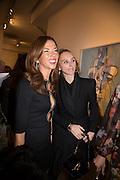 Heather Kerzner; Jo Manoukian; , George Condo - private view . Simon Lee Gallery, 12 Berkeley Street, London, 10 February 2014