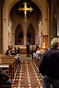 Sidonie & Wes' wedding Rehearsal at St Barnabas Cathedral, Nottingham