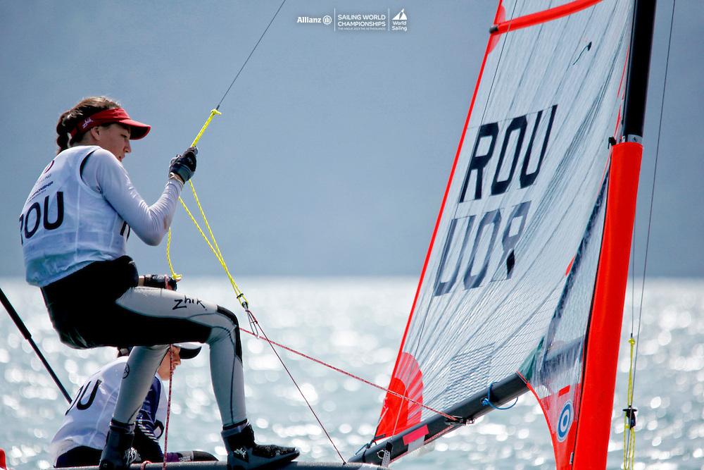 Romania29erWomenCrewROUEB1EbruBolat<br />Romania29erWomenHelmROUMA1MartaAndronic<br />Day1, 2015 Youth Sailing World Championships,<br />Langkawi, Malaysia