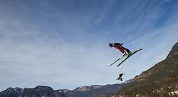 01.01.2014, Olympiaschanze, Garmisch Partenkirchen, GER, FIS Ski Sprung Weltcup, 62. Vierschanzentournee, Probesprung, im Bild Simon Ammann (SUI) // Simon Ammann (SUI) during Trial Jump of 62nd Four Hills Tournament of FIS Ski Jumping World Cup at the Olympiaschanze, Garmisch Partenkirchen, Germany on 2014/01/01. EXPA Pictures © 2014, PhotoCredit: EXPA/ JFK