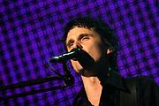 Muse live in concert in the Brabanthallen , Den Bosch , Netherlands.<br /> <br /> Muse is een trio uit Teignmouth, Engeland. De band werd in 1996 opgericht door Matthew Bellamy (vocalen, gitaar en piano), Dominic Howard (drums) en Chris Wolstenholme (bas, guitar en vocal). / Muse is a trio from Teignmouth, United Kingdom. The link was set up in 1996, Matthew Bellamy (vocalen, gitar and piano), Dominic Howard (drums) and Chris Wolstenholme (bass, guitar and vocal).