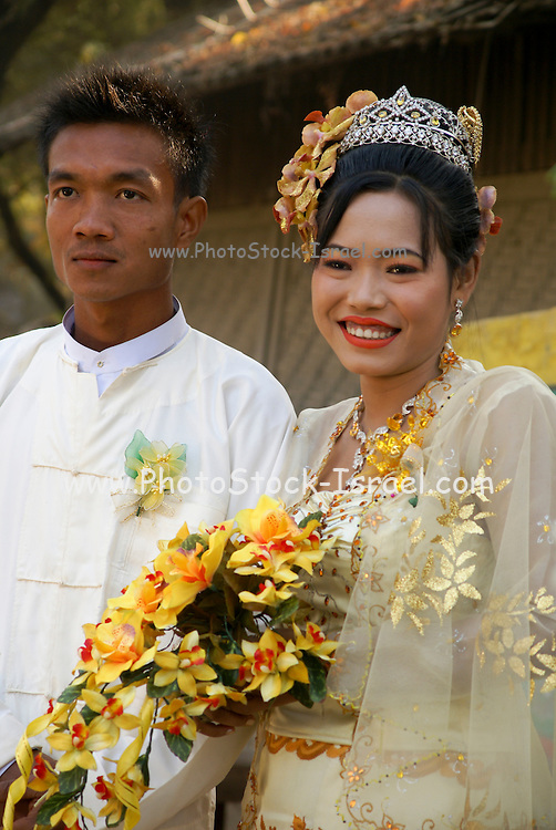Myanmar, Burmese Wedding