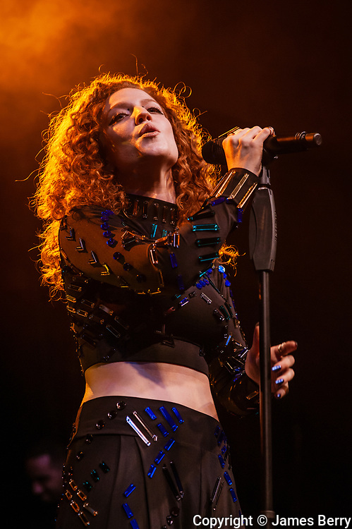 Jess Glynne performs live at Electric Brixton, London, on Thursday 30 October 2014.