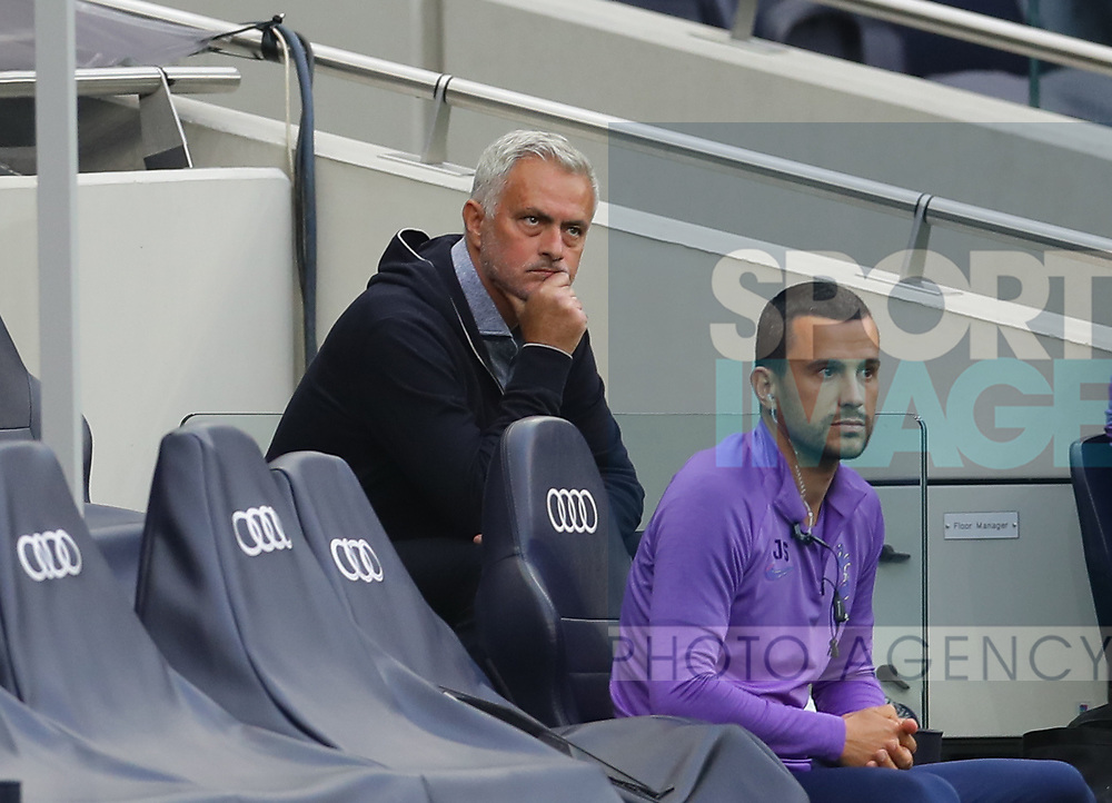 Jose Mourinho manager of Tottenham during the Premier League match at the Tottenham Hotspur Stadium, London. Picture date: 23rd June 2020. Picture credit should read: David Klein/Sportimage