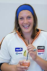 Petra Robnik of Slovenian Alpine Ski Team before new season 2008/2009, on Septembra 25, 2008, Ljubljana, Slovenia. (Photo by Vid Ponikvar / Sportal Images)