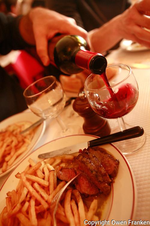 """L'Entercote """"Relais de Venise"""" at Porte Maillot, Paris........Photo by Owen Franken"""