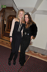 Left to right, MADDY MACEY and ALICE TEMPERLEY at the Women for Women International UK Gala held at the Guildhall, City of London on 3rd May 2012.