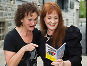 Anne McCabe An Thaibhdhearc and Marianne Ní Chinnéide (NUI Galway's O'Donoghue Centre) at the launch of The Galway Theatre Festival and the NUI Galway's O'Donoghue Centre for Drama, Theatre and Performance  . Photo:Andrew Downes, xposure