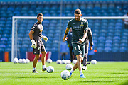 Leeds United midfielder Mateusz Klich (43) warming up during the EFL Sky Bet Championship match between Leeds United and Swansea City at Elland Road, Leeds, England on 31 August 2019.