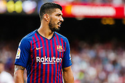 Luis Suarez of FC Barcelona during the Spanish championship La Liga football match between FC Barcelona and Huesca on September 2, 2018 at Camp Nou Stadium in Barcelona, Spain - Photo Xavier Bonilla / Spain ProSportsImages / DPPI / ProSportsImages / DPPI