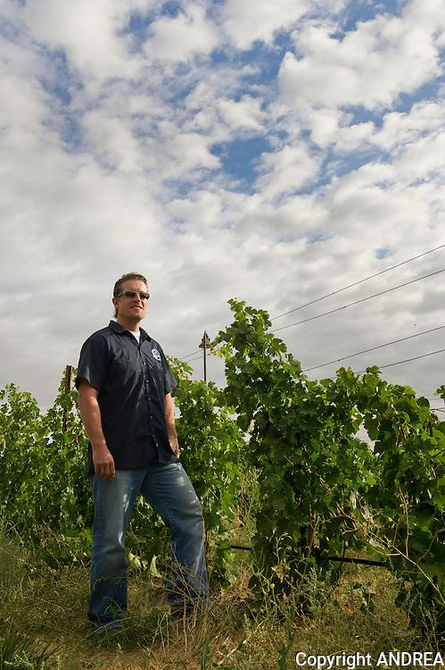 David 'Merf' Merfeld, Northstar winery, Walla Walla, Washington
