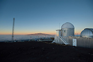 The High Altitude Observatory at the Mauna Loa Observatory on Hilo, Hawaii.