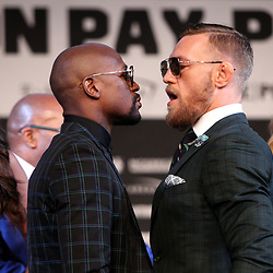 23,08,2017 Floyd Mayweather vs. Conor McGregor Final Press Conference