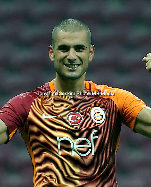 Turkey superlig match between Galatasaray and Kardemir Karabukspor at Turk Telekom Arena in Istanbul , Turkey , August 22  ,2016.<br /> Final Score : Galatasaray 1 - Kardemir Karabukspor 0<br /> Pictured: Eren Derdiyok of Galatasaray.