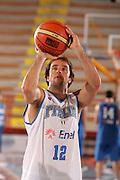 Porto San Giorgio, 05/06/07<br /> Basket, nazionale italiana maschile<br /> bianchi vs blu<br /> nella foto: daniele cavaliero<br /> foto ciamillo