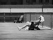 Surviving in a record setting May heatwave at the South Street Seaport